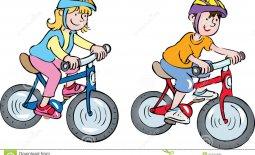 Bike Riding Children